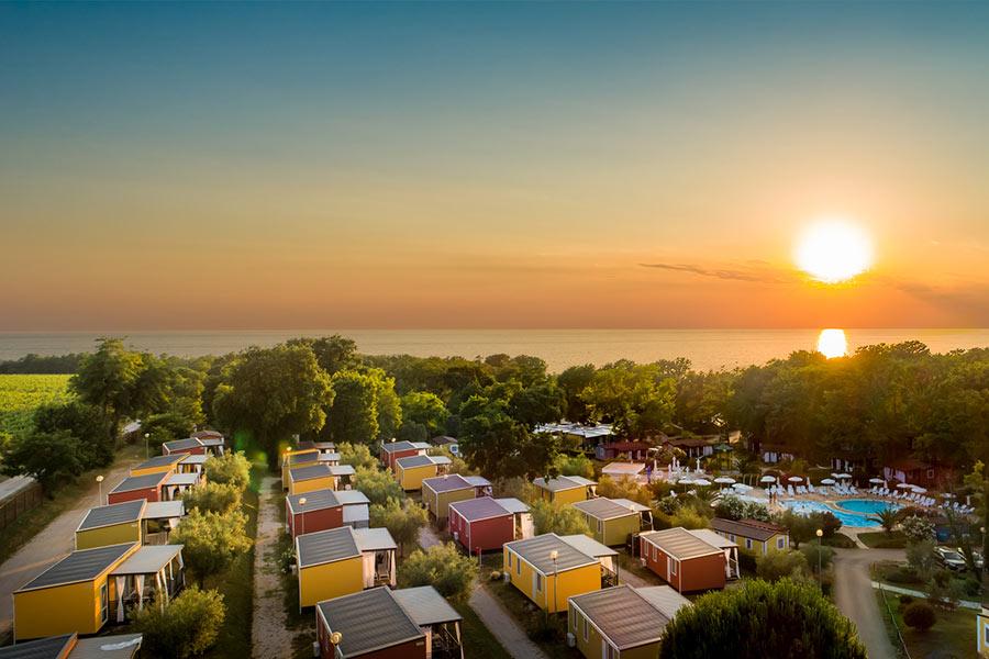 Mobile homes Aminess Maravea Camping Resort