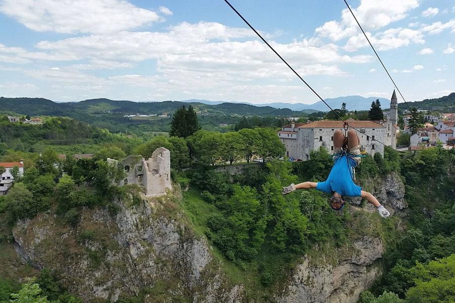 Zip Line Istria