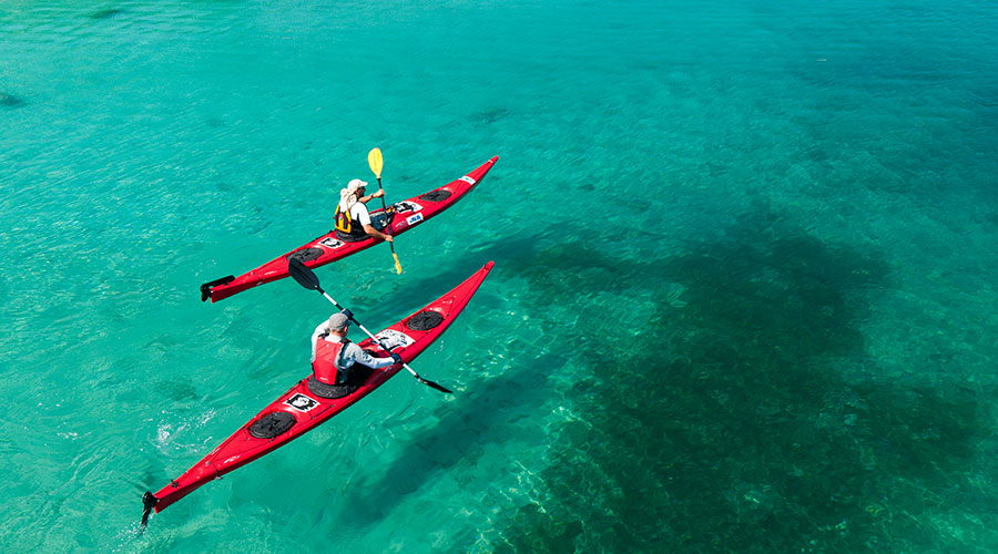 Kayaking and canoeing in Istria and Dalmatia  A magical