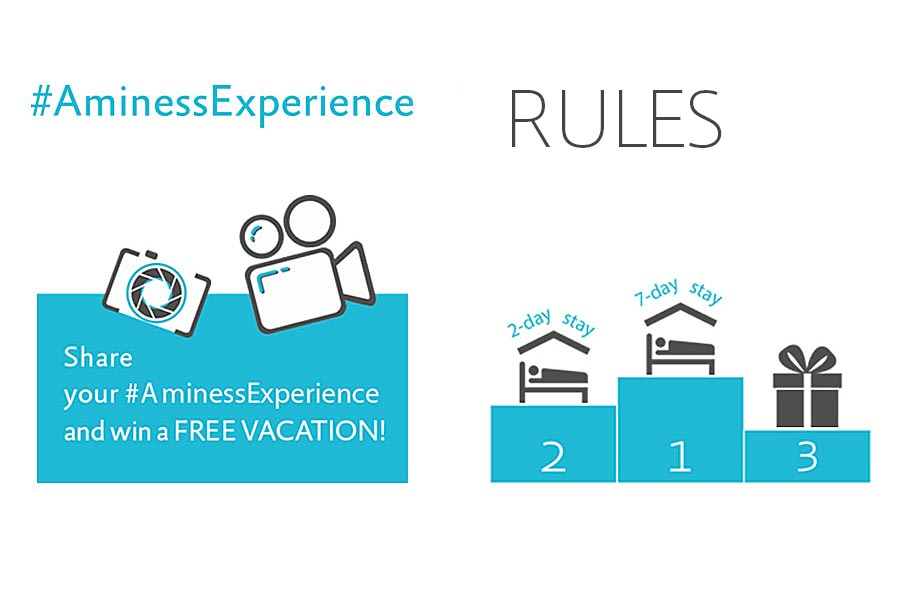 Aminess Video Experience Rules